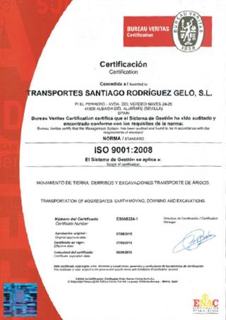 Certificación Calidad ISO 9001:2008